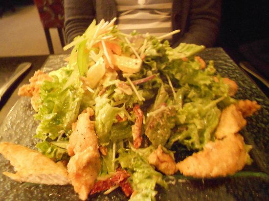 Chicken Salad at Level One Restaurant, Kelvin Hotel