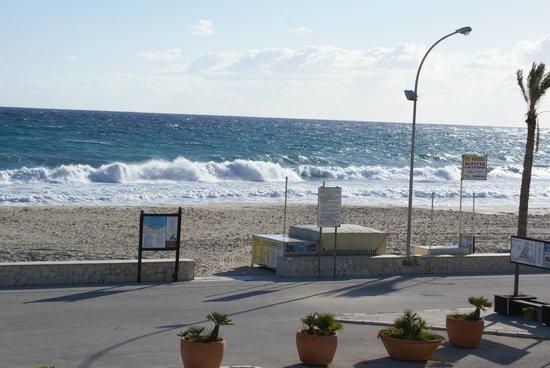 Hotel Mira Spiaggia: Utsikt från rummets balkong