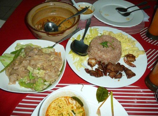 Siam House: Thai fried rice and Pad Seu