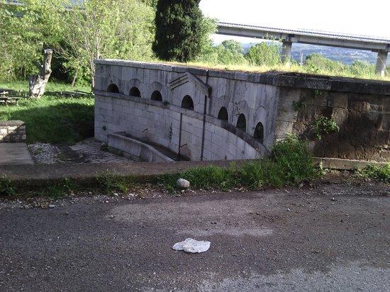 Ristorante Grappoloduva: la vecchia fontana