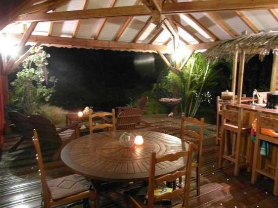 West Indies Cottage : La terrasse