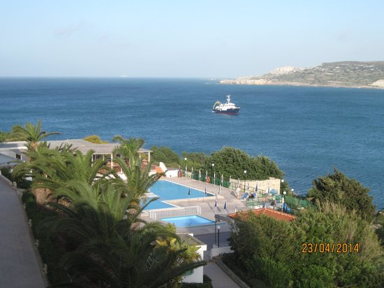 Mellieha Bay Hotel : One of the lovely views from room.