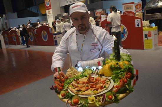 Pizzeria Manuno : PIZZA CLASSICA CAMPIONATO MONDIALE 2014