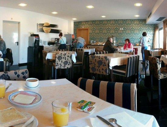Hotel Dom Afonso Henriques : Desayuno