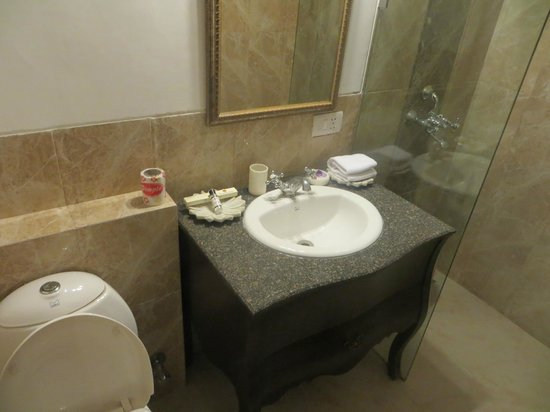 Hotel Mahendra Prakash: Very nice, clean bathroom