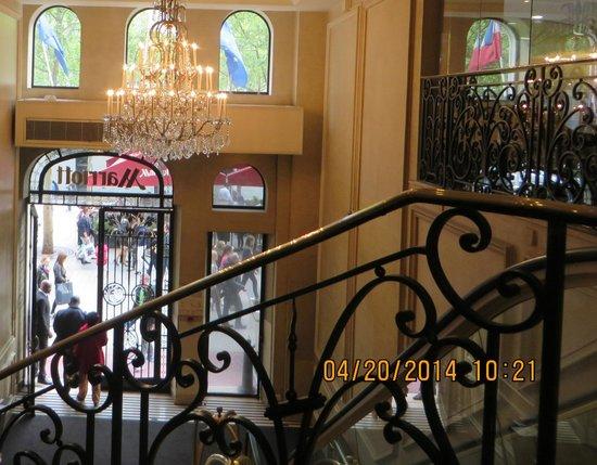 Paris Marriott Champs Elysees Hotel : Entrance