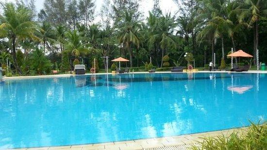 HARRIS Resort Batam Waterfront : very wide pool