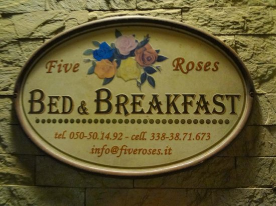 Five Roses Bed & Breakfast : Five Roses
