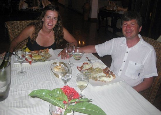 Le Bonheur Villa: One of the best dinners of our trip!