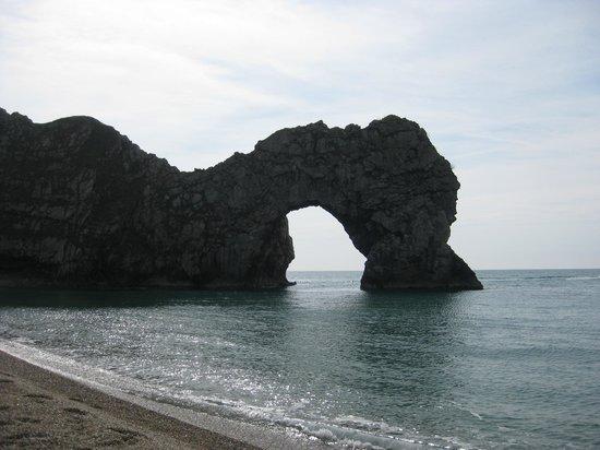 Durdle Door & White Nothe Circular Walk: veduta dalla spiaggia