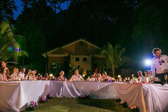 Tunamaya Beach & Spa Resort : Wedding Dinner Starting