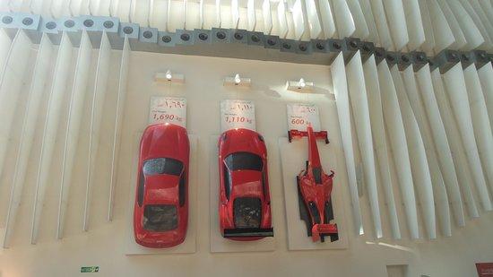 Ferrari World Abu Dhabi : kids had fun
