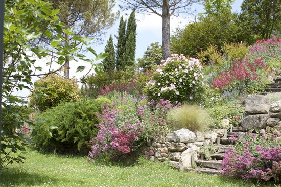 Cuq en Terrasses : Le jardin