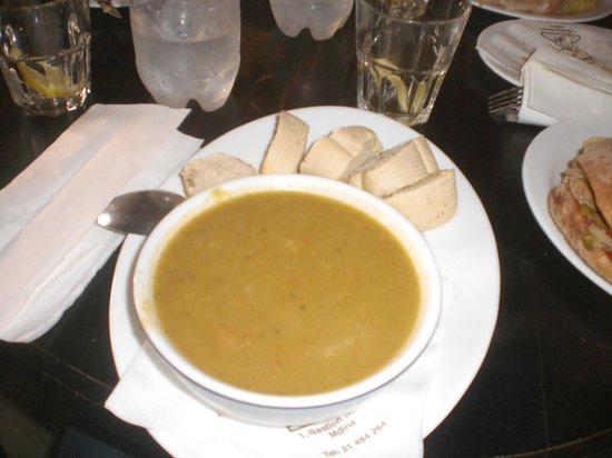 Fontanella Tea Garden : zuppa del giorno