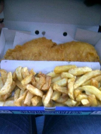 Ainsworths Traditional Fish & Chips: Perfect fish and chips