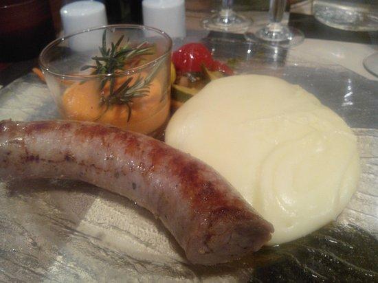 Chez Genevieve : saucisse aligot