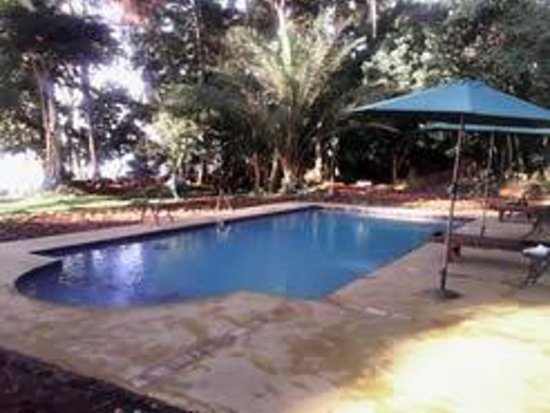 Brovad Sands Lodge : i enjoyed a dip in the new swimming pool