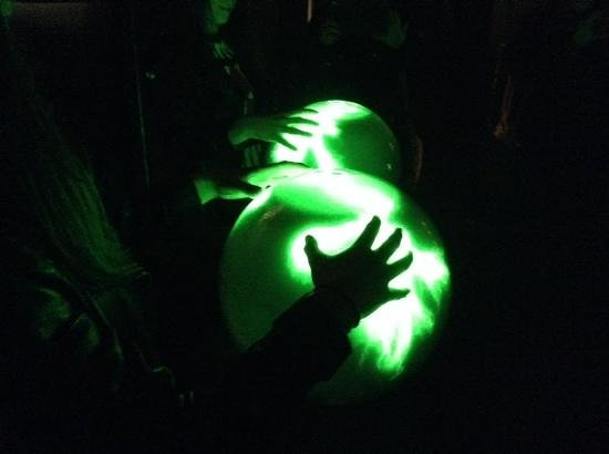 Camera Obscura and World of Illusions: plasma balls