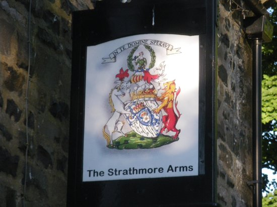 Strathmore Arms at Holwick: Entrance