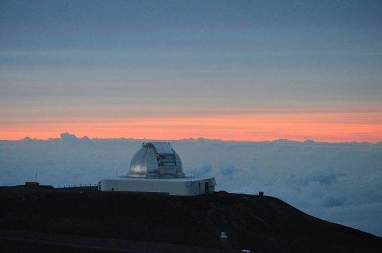 Mauna Kea Summit: One of the Gemeni Telescopes at Mauna Kea