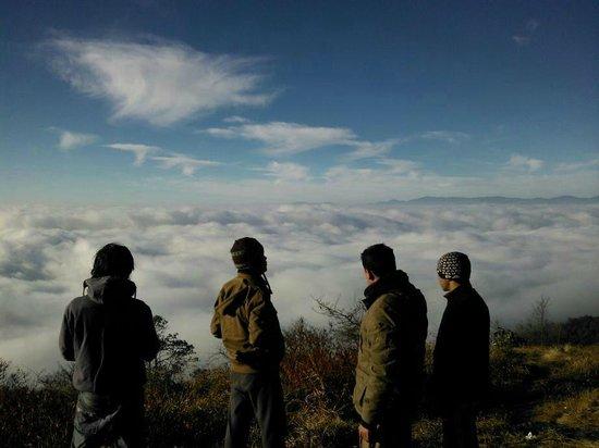 Ravangla, India: above the clouds.....