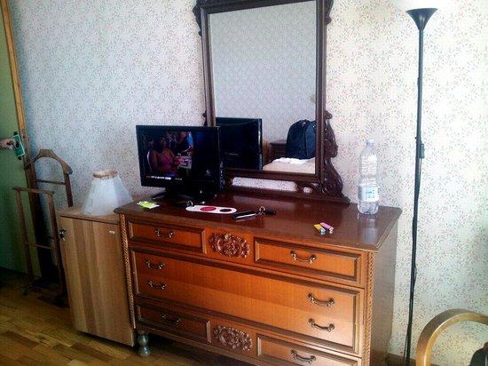 Hotel Cristallo : Microbar e mobilio vintage