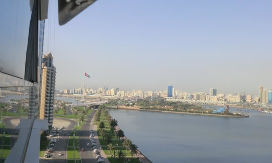 Copthorne Hotel Sharjah: View from Room (1)