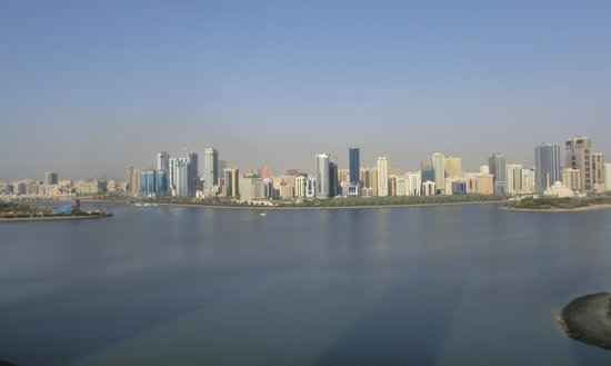 Copthorne Hotel Sharjah: View from Room (2)