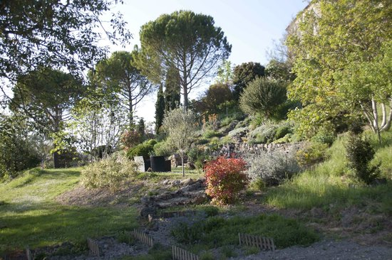 Cuq en Terrasses : Jardin