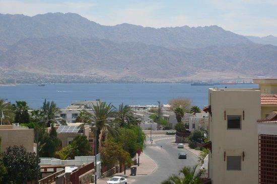 Rich Luxury Suites: вид на Иорданию из окна отеля