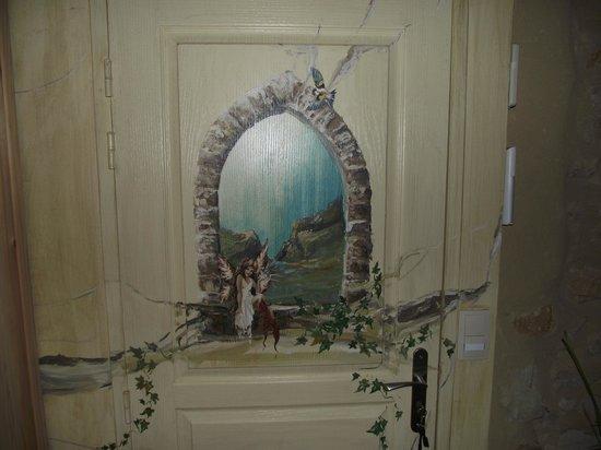 Chambres d'hotes et Gite des Fees : porte de la chambre