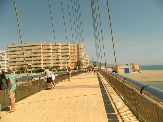 Fuengirola Beach Aparthotel: View of the bridge
