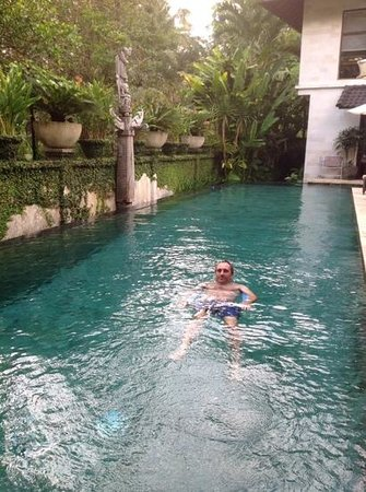 Villa Saraswati: the pool