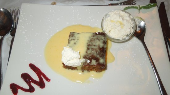 Caversham Mill Restaurant : Malva Pudding