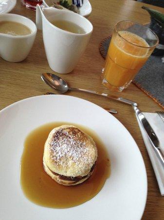Manggei Designhotel Obertauern: Pancakes!