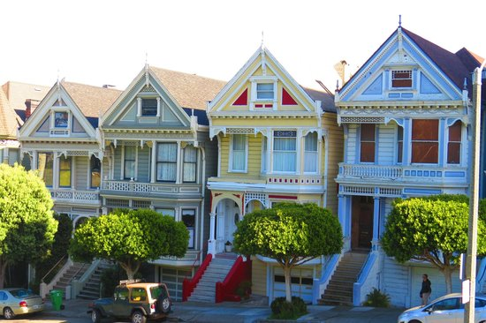 Just Like In Full House Kuva Painted Ladies San Francisco