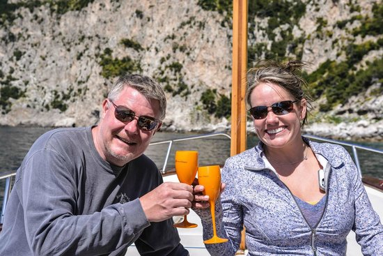 Gianni's Boat : Limoncello Toast to Capri