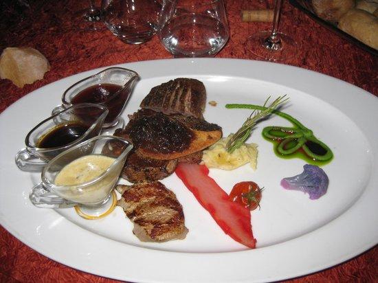 La Table d'Emilie : un des plat de la carte