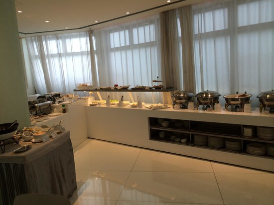 Ambience Hotel: Breakfast spread
