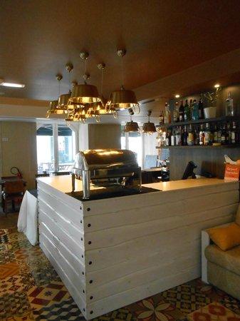 My Story Hotel Ouro : Buffet petit dejeuner (vide)