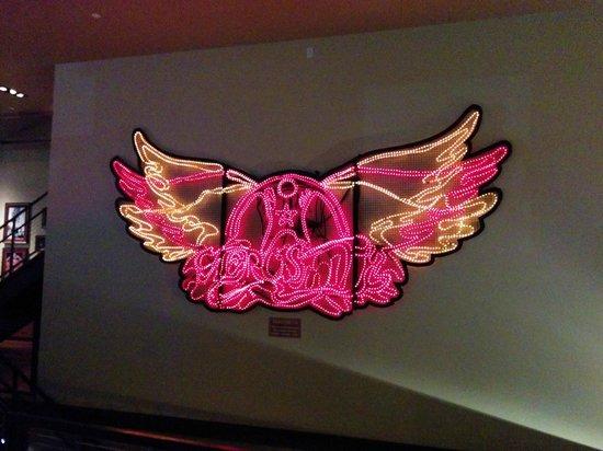 Hard Rock Cafe: Aerosmith...yesss