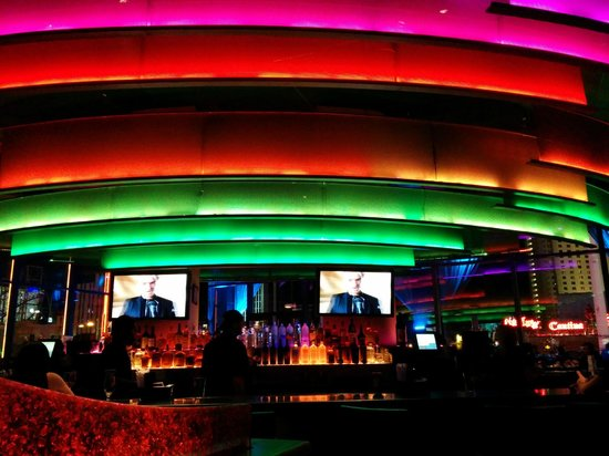 Hard Rock Cafe: The bar on first floor
