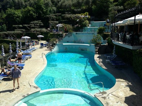 Grand Hotel Capodimonte: The swimming pools