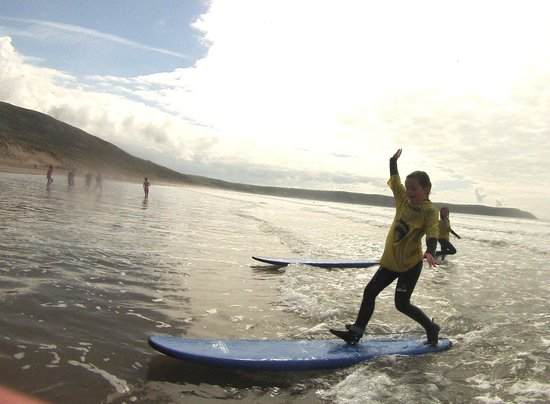 Nick Thorn Surf School: come learn to surf with one of our ASI and lifeguard qualified instructors