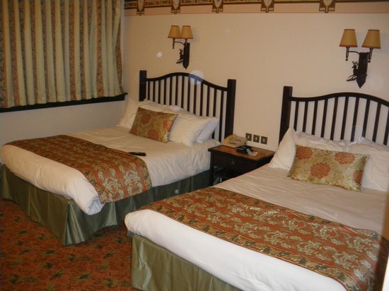 Disney's Sequoia Lodge : La chambre