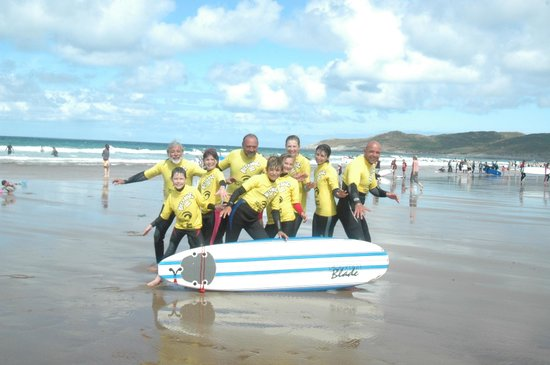 Nick Thorn Surf School: Good, active fun for everyone! friends family alike!