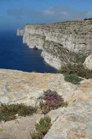 Hotel Ta' Cenc: Cliff walk
