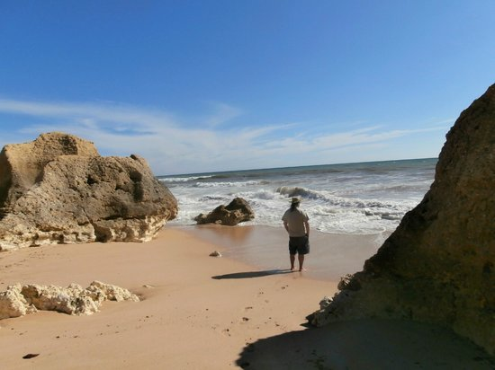Praia Gale : beautiful beach
