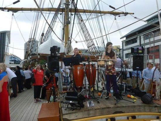 James Craig Tall Ship: NYE