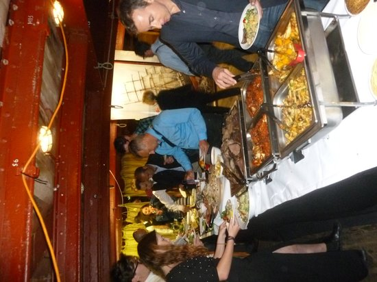 James Craig Tall Ship: NYE Dinner Buffet
